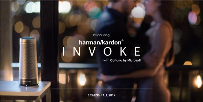 harman kardon invoke cortana speaker 1