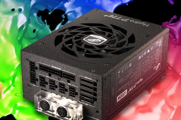 FSP's wild new power supply is liquid-cooled and built for silence