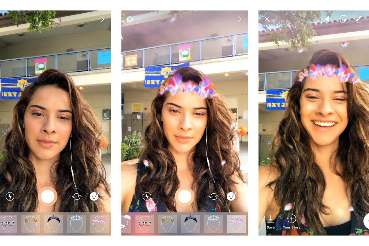 Face Tattoo Filter Instagram: Instagram Finally Snags Snapchat's Beloved Selfie Lenses