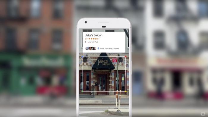 Google Lens Restaurant Info