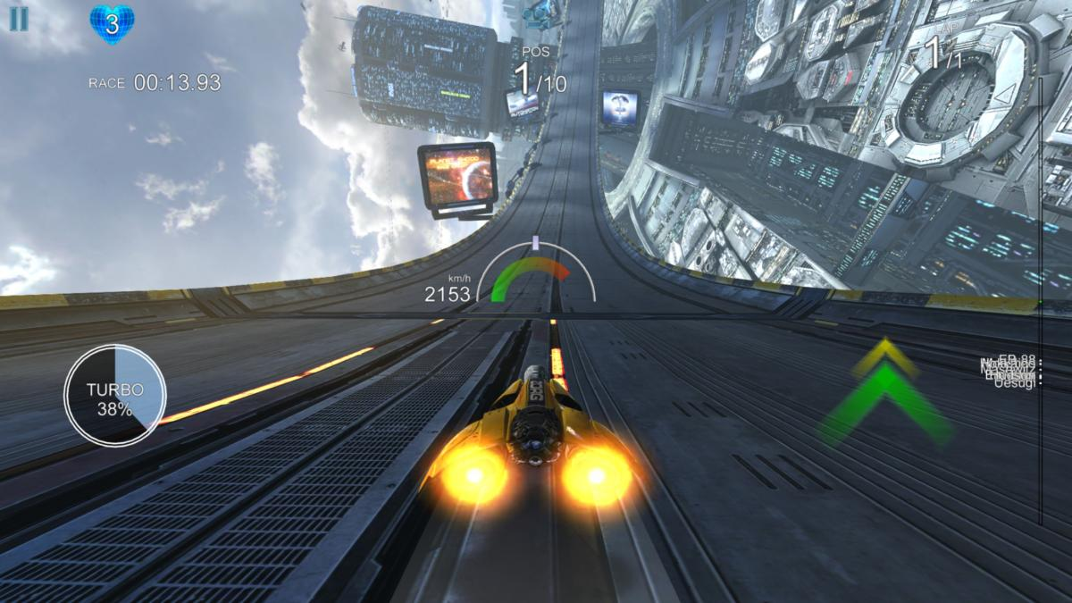 Best iOS racing games- AGdrive