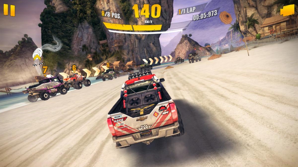 ios racing asphaltxtreme