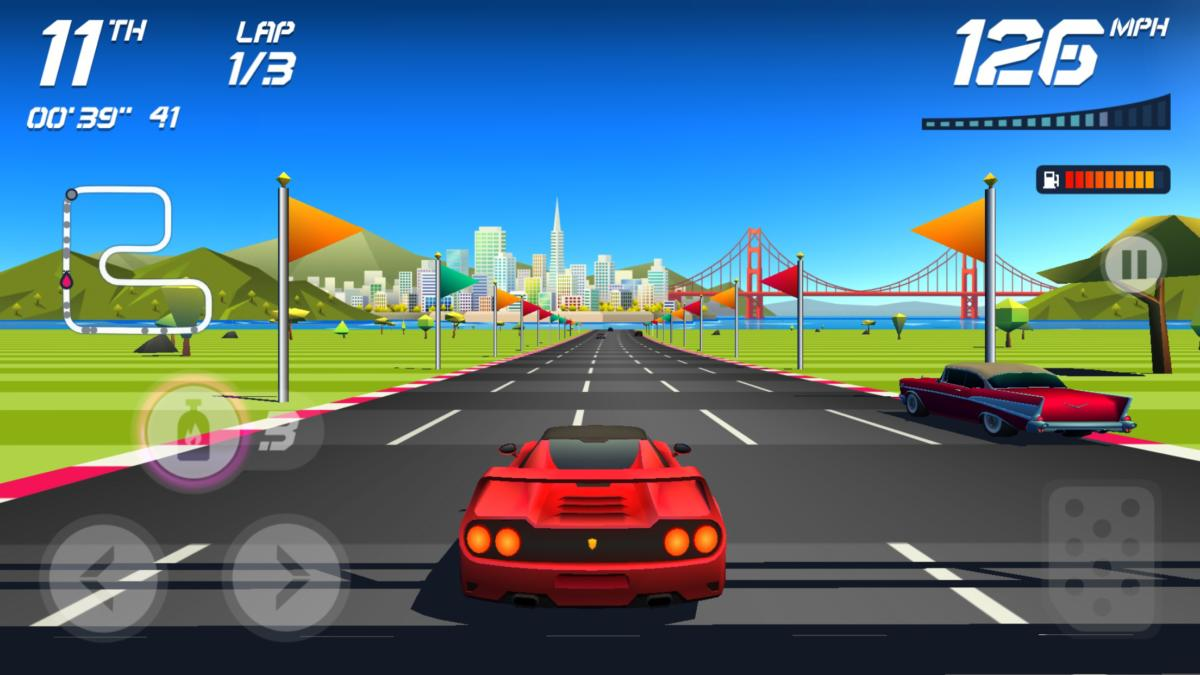 Best iOS racing games- Horizon chase