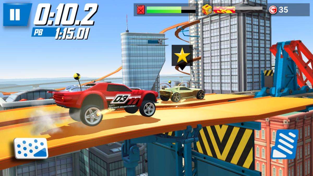 Best iOS racing games- Hot Wheels