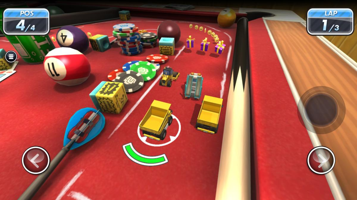 Best iOS racing games- Micro Machines