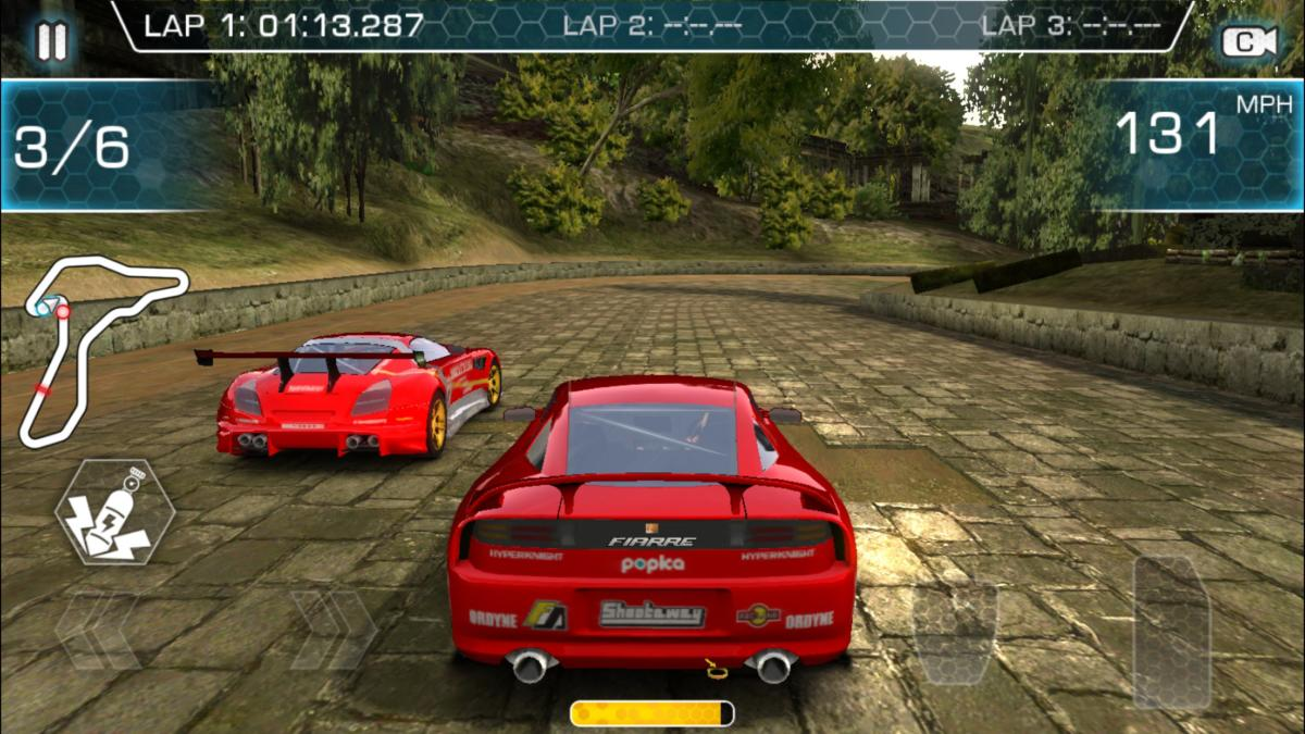 Best iOS racing games- Ridge Racer