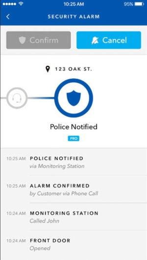 iris alarm tracker 4 pro monitoring experience