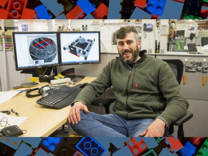 Chris Steininger, Master Lego Builder