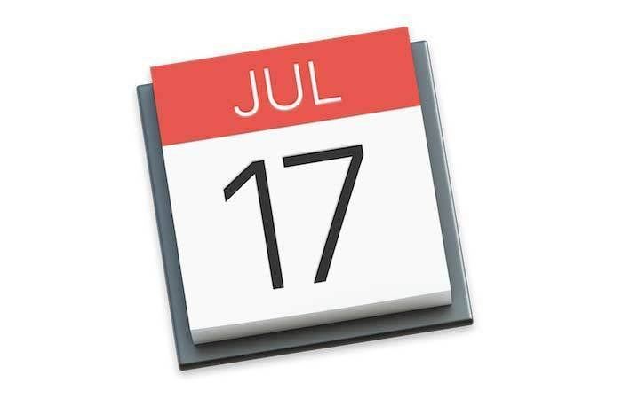 Calendar Apple : How to sync past events in your calendar on iphone