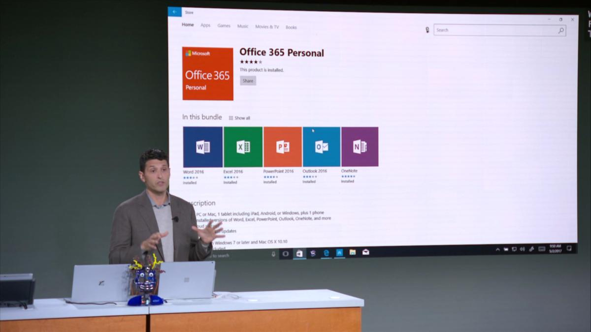 microsoft education terry myerson office 365 personal