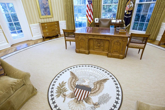 oval office white house