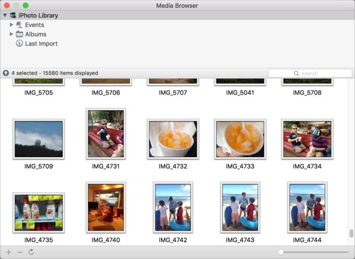 photosweeper3 media browser