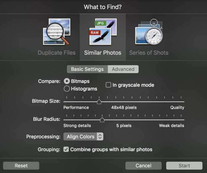 photosweeper3 similarity finding