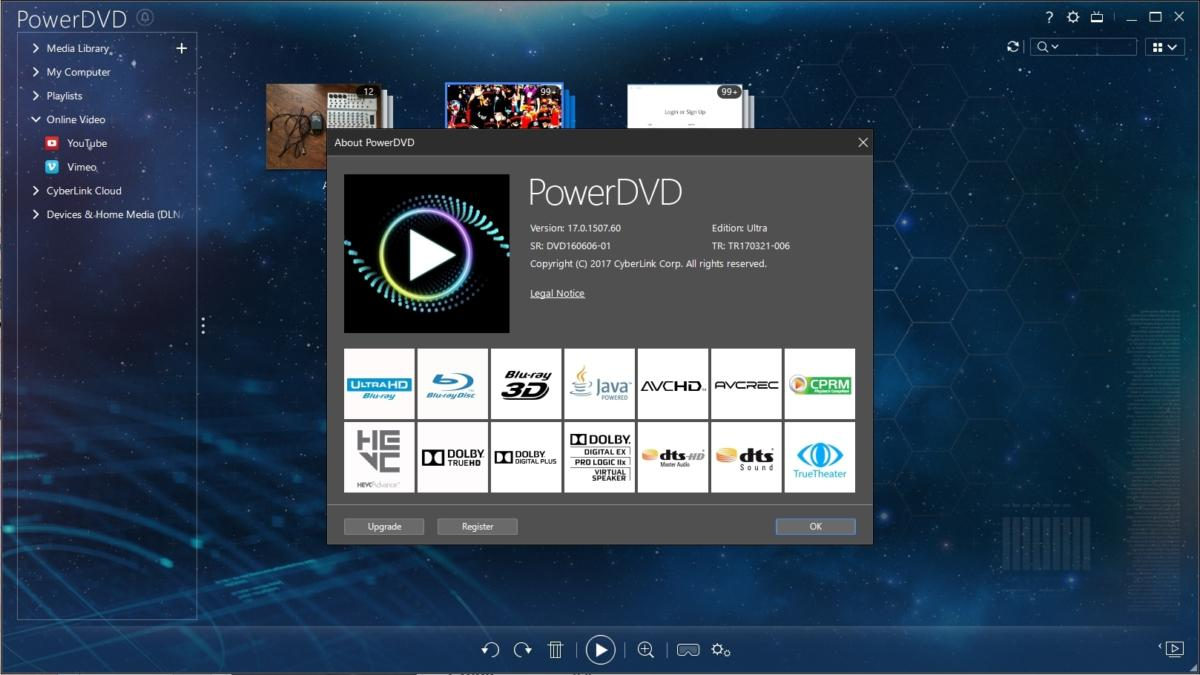 cyberlink power media player software
