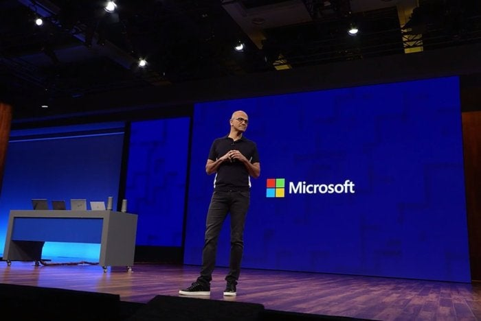 satya nadella build 2017