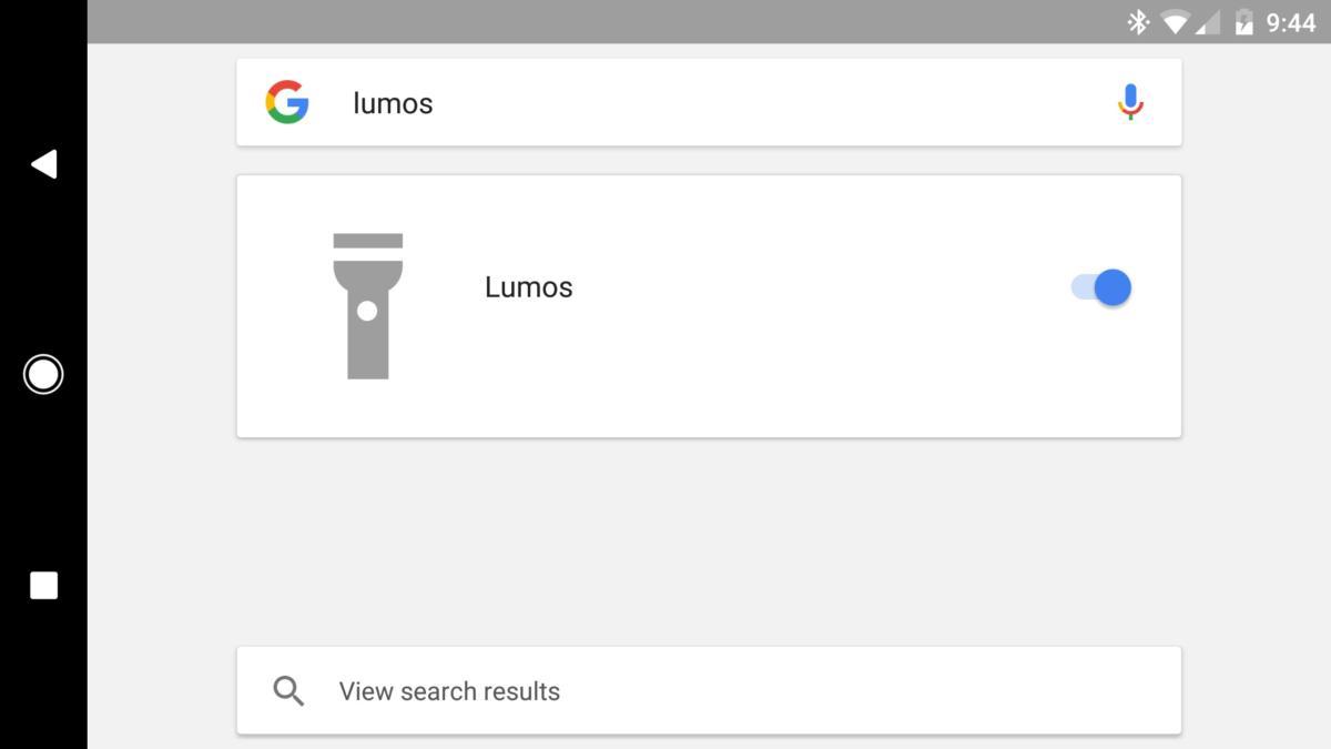 Google lumos