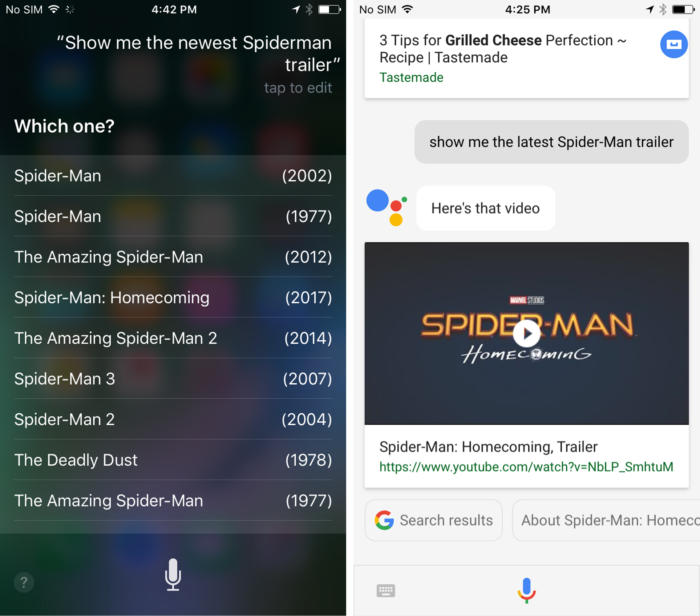siri assistant trailer