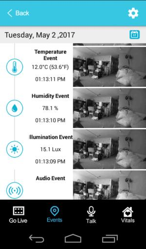 spotcam events