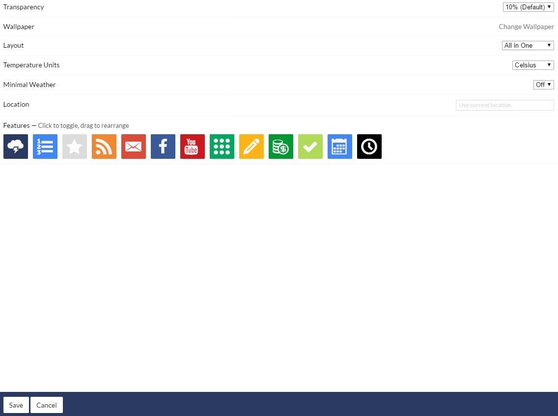 How 'Start - A New Tab Page' turns Chrome into an iGoogle