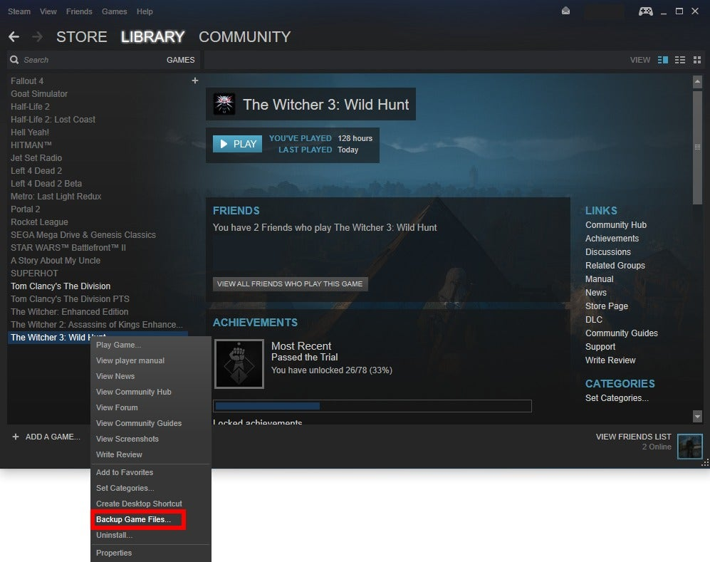 How to back up your Steam games | PCWorld