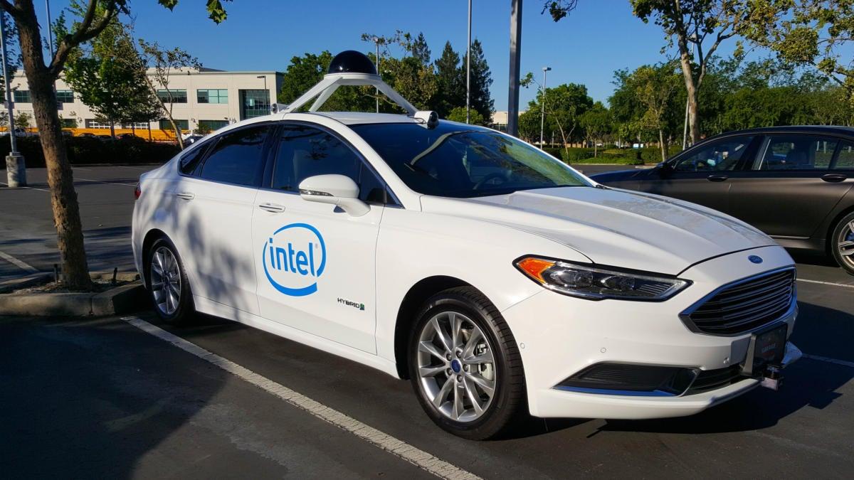 Condução autónoma da Intel