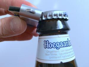 usb beer bottle opener