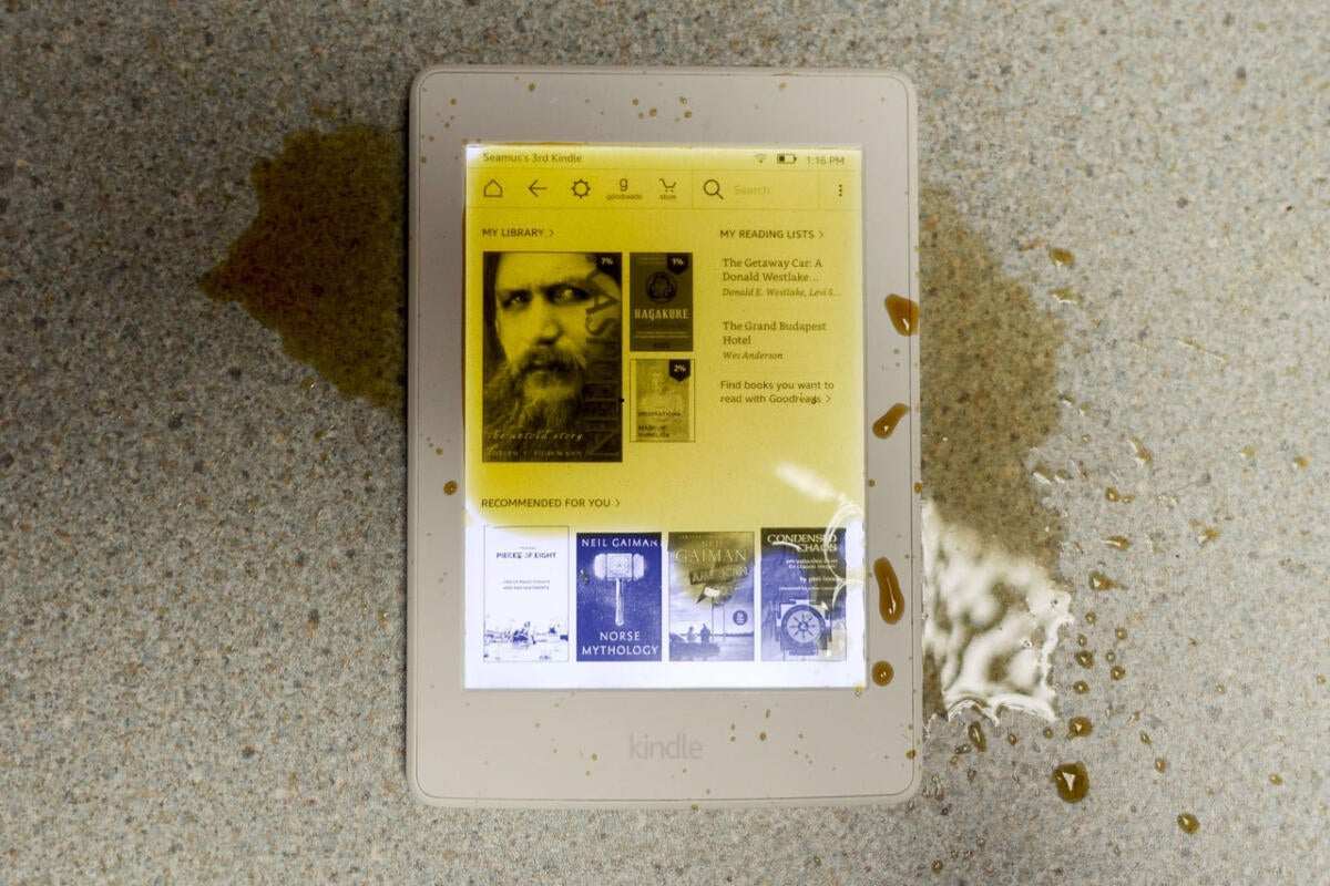 Waterfi Waterproofed Kindle Paperwhite review: A great e-reader that's completely protected from water damage