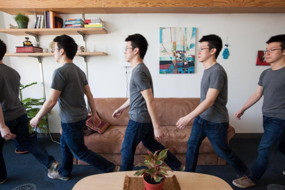 WiGait uses wireless signals to continuously measure a person's walking speed.