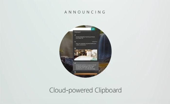 windows 10 cloud clipboard