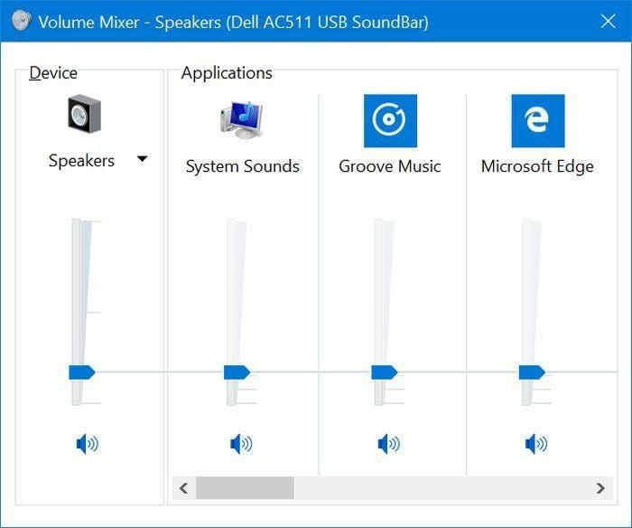 windows 10 preview sound