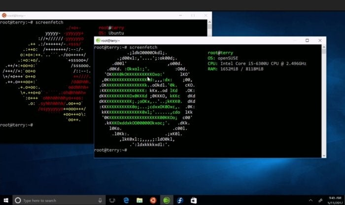Windows Subsystem for Linux welcomes Suse and Fedora options
