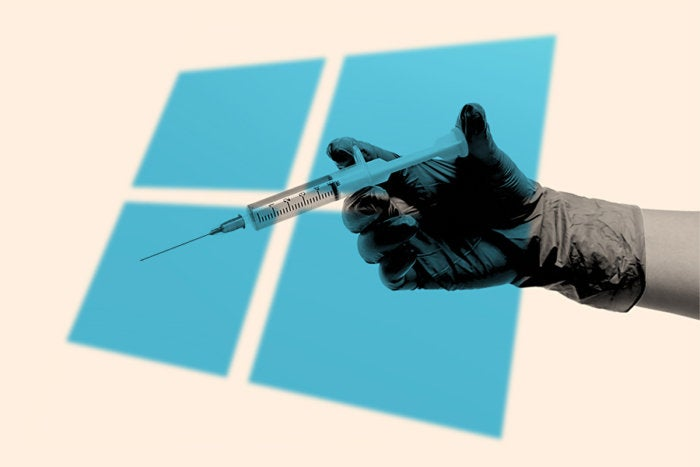 A cybercrime gang is using fake application compatibility patches to target Windows.