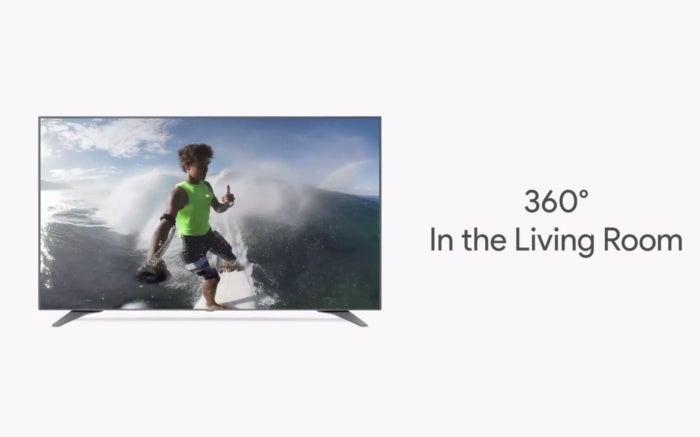 youtube 360 videos tv