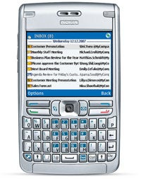 Nokia E62, which runs on the S60 operating system