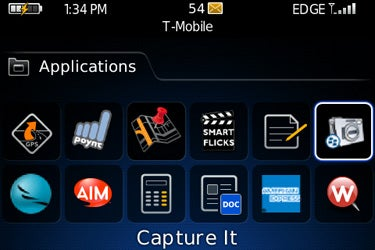 Capture It on BlackBerry