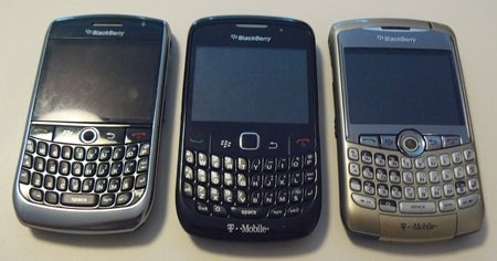T-Mobile's BlackBerry Curve Family: Curve 8900, Curve 8520 and Curve 8320