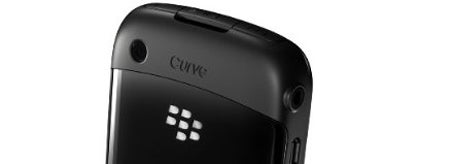 Curve 8520 Rear, Camera and Curve Logo