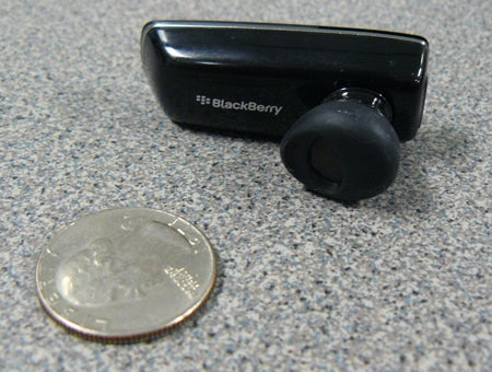 image of RIM's BlackBerry Wireless Headset HS-500