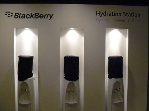 BlackBerry Developer Conference Water Coolers