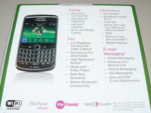 T-Mobile BlackBerry Bold 9700
