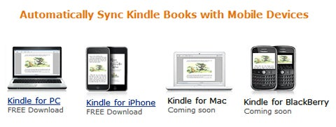 Amazon: Kindle for BlackBerry App