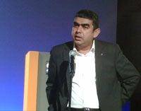 SAP CTO Vishal Sikka