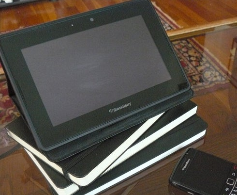 BlackBerry PlayBook Tablet with BlackBerry Bold Smartphone