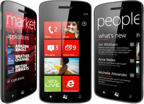 Microsoft Windows Phone 7.5 Handsets