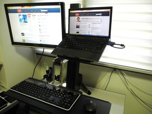 Get Up Stand Up New Workstation Keeps You On Your Toes Cio