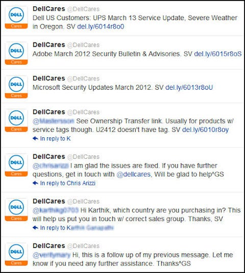 DellCares Twitter Support