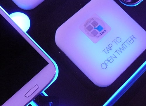 TecTile Display at Galaxy S II Launch Event