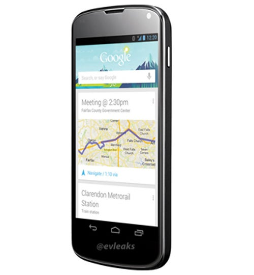 Google Nexus 4 by LG side view