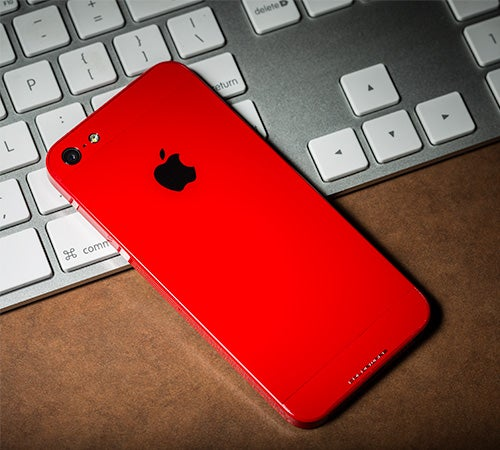 ColorWare red iPhone 5