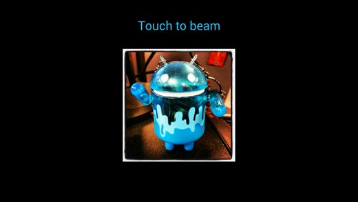 Samsung Galaxy Note II S Beam Screen